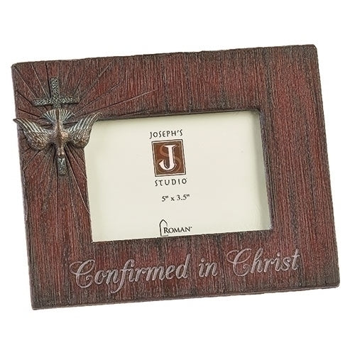"Confirmation Frame Distressed 6.5""H"