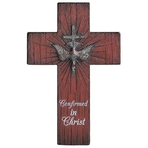 "Confirmation Wall Cross Distressed 8.75""H"
