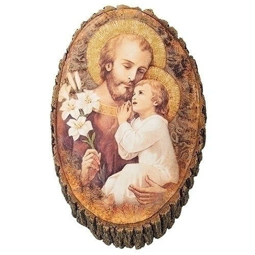 "JOSEPH - ST JOSEPH & CHILD WOOD 12.25""H"