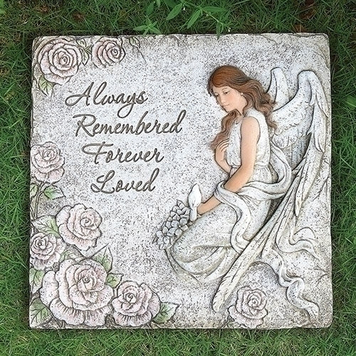"ANGEL - MEMORIAL ANGEL STEPPING STONE 11.25""H"