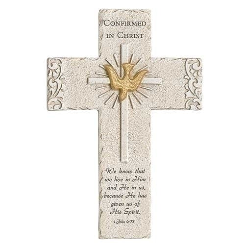 "Confirmation Wall Cross 9.25""H"