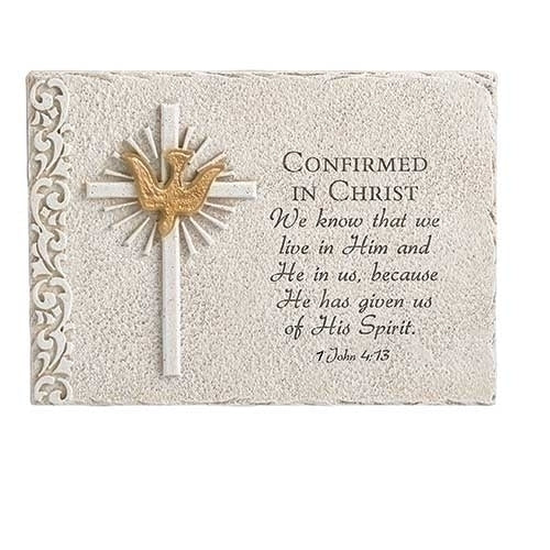 "Confirmation Wall Plaque 6""H"