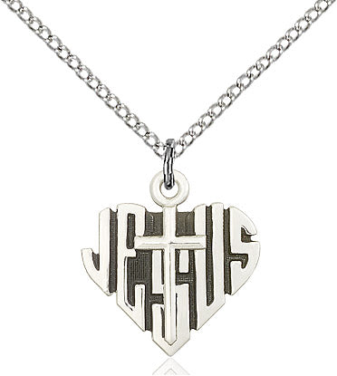 HEART of JESUS / CROSS                   6043SS/18SS