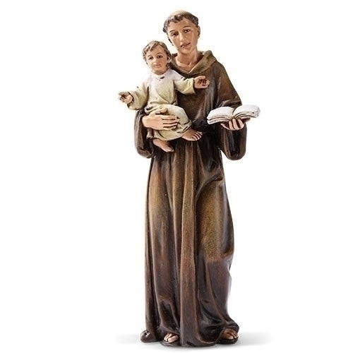"ANTHONY - 6.25"" ST ANTHONY FIGURE"