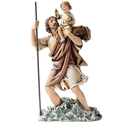 "CHRISTOPHER - 6.25""H ST CHRISTOPHER FIGURE"