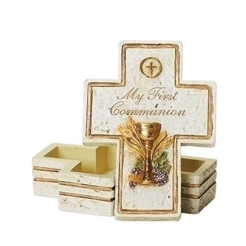 "3.5""H COMMUION KEEPSAKE BOX"