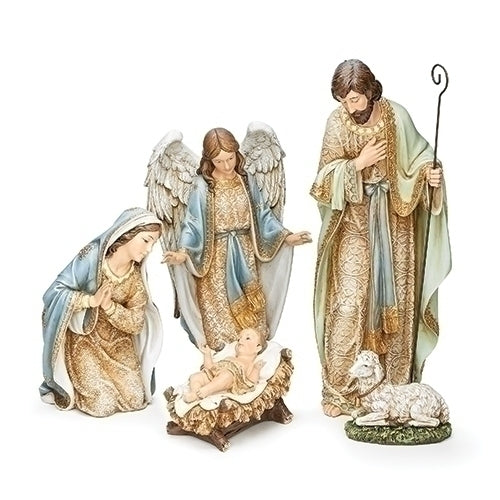 Holy Family with Angel and Lamb 21.75 5pc ST