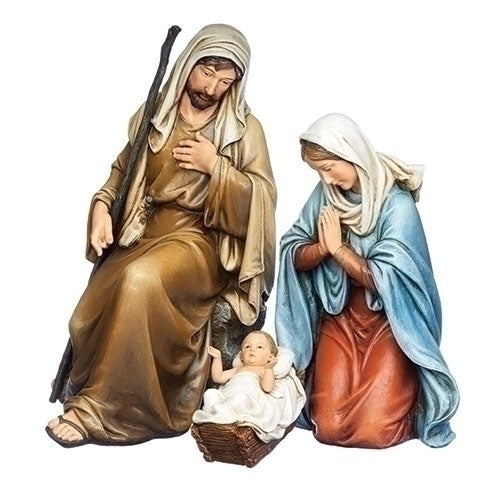 Holy Family Kneeling 3pc ST 15""