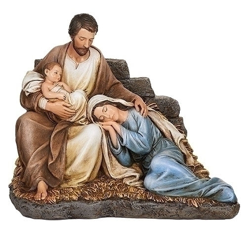 "Sleeping Mary with Baby Jesus and Joseph 6.7""H"