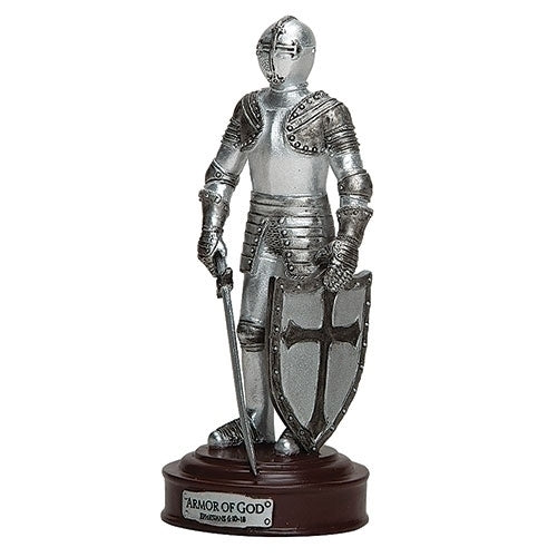 "ARMOR OF GOD KNIGHT FIGURE 5""H"