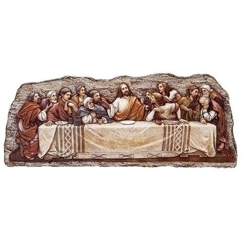 "5""H THE LAST SUPPER PLAQUE"