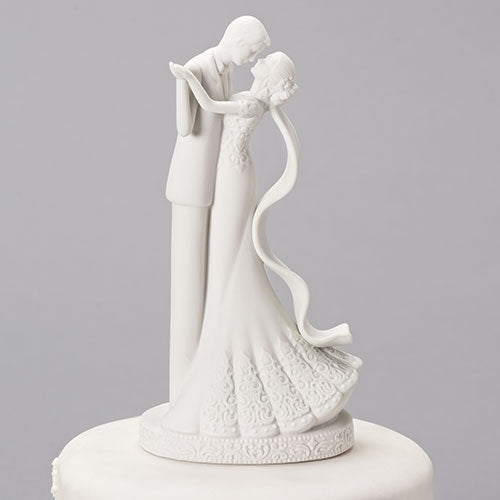 "CAKE TOPPER LOVE NEVER FAILS 8""H"