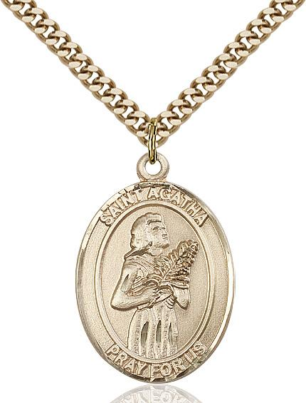 Agatha - St Agatha Medal 6 OPTIONS