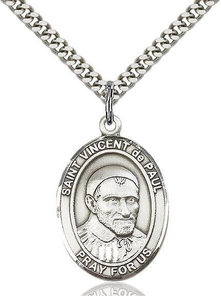Vincent - ST. VINCENT de PAUL Medal 6 OPTIONS
