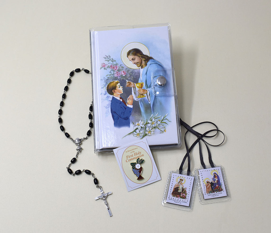 First Mass Book (Good Shepherd) Vinyl Set An Easy Way Of Participating At Mass For Boys And Girls