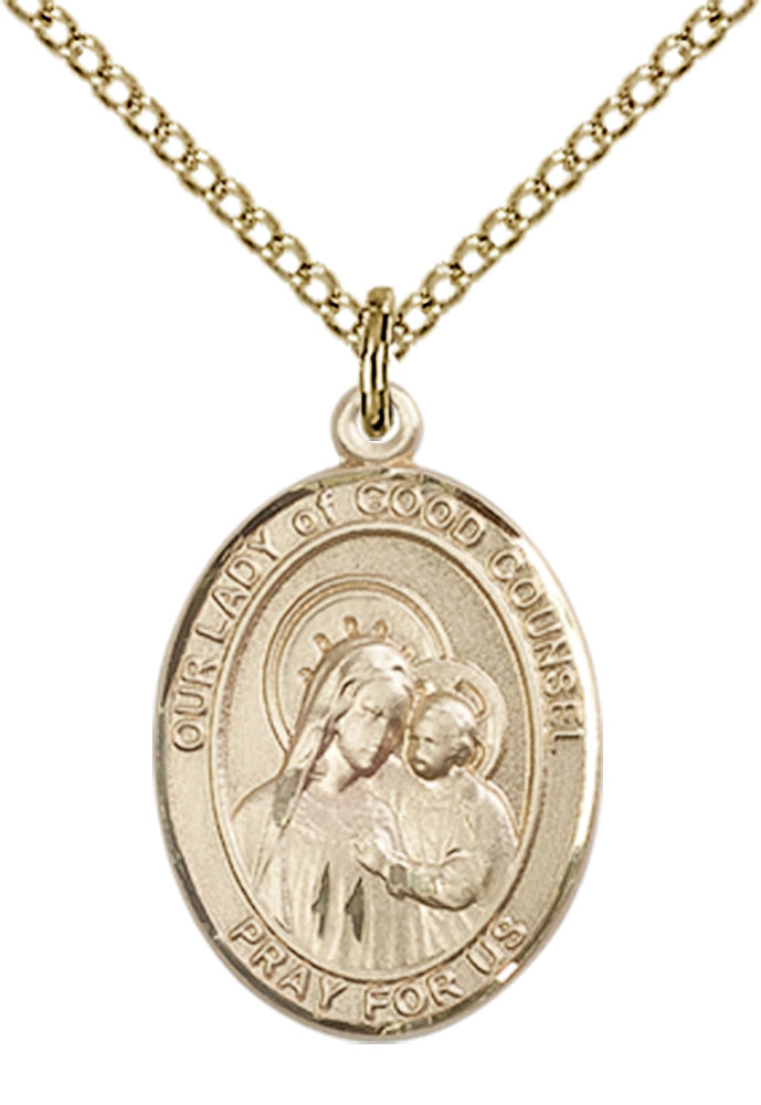 Our Lady of Good Counsel Necklace 18""