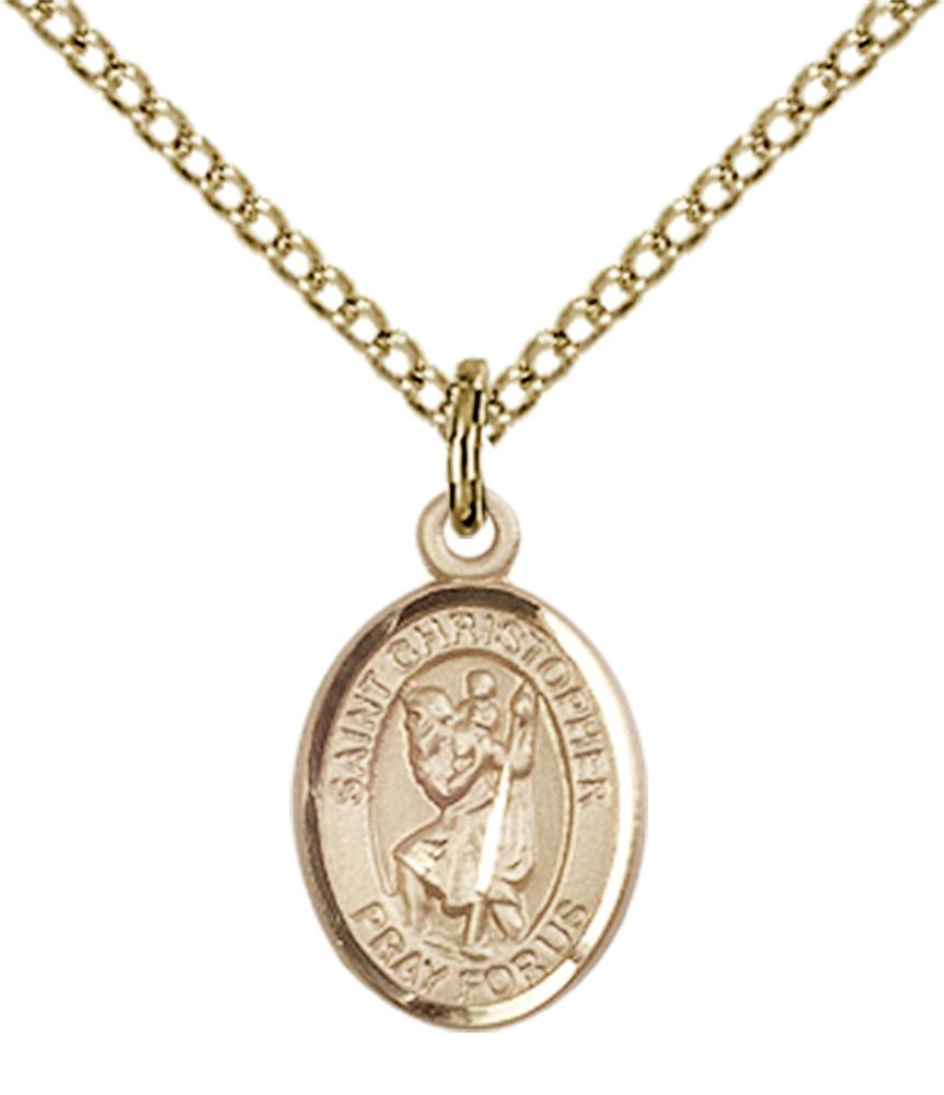 Christopher - St. Christopher Necklace 6 Options