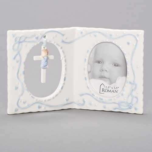 "BOY FRAME W/CROSS 2.5X3.5 4""H"