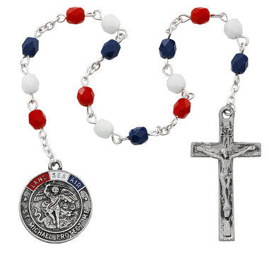 Military Chaplet, Carded