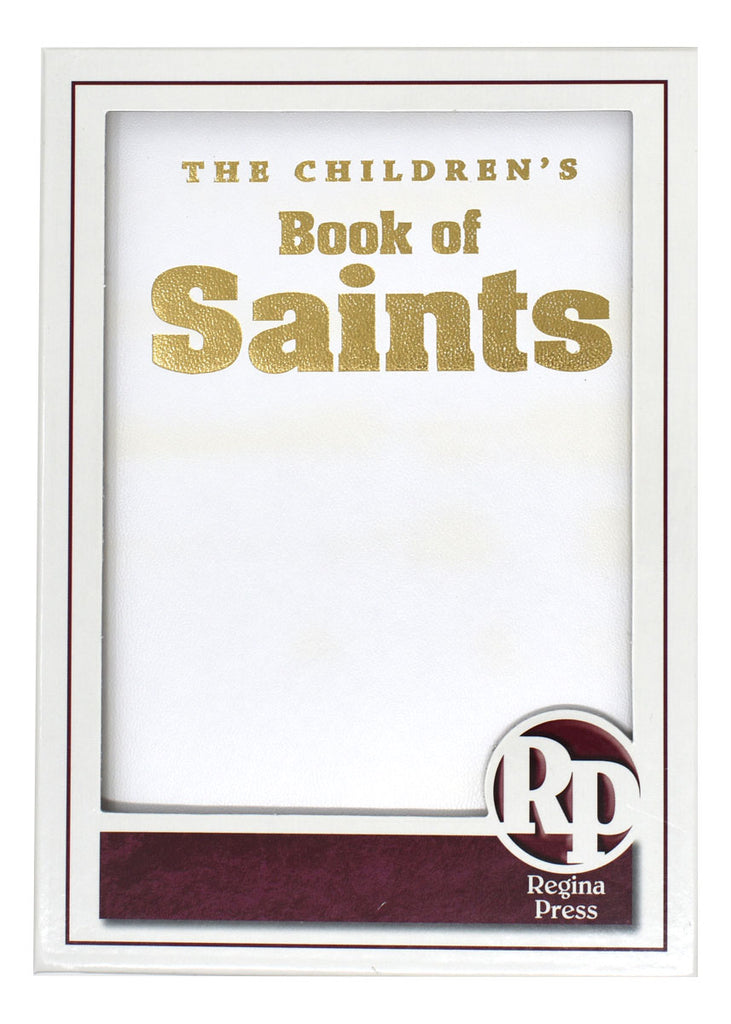 Children's Book Of Saints - Burgundy Gift Edition