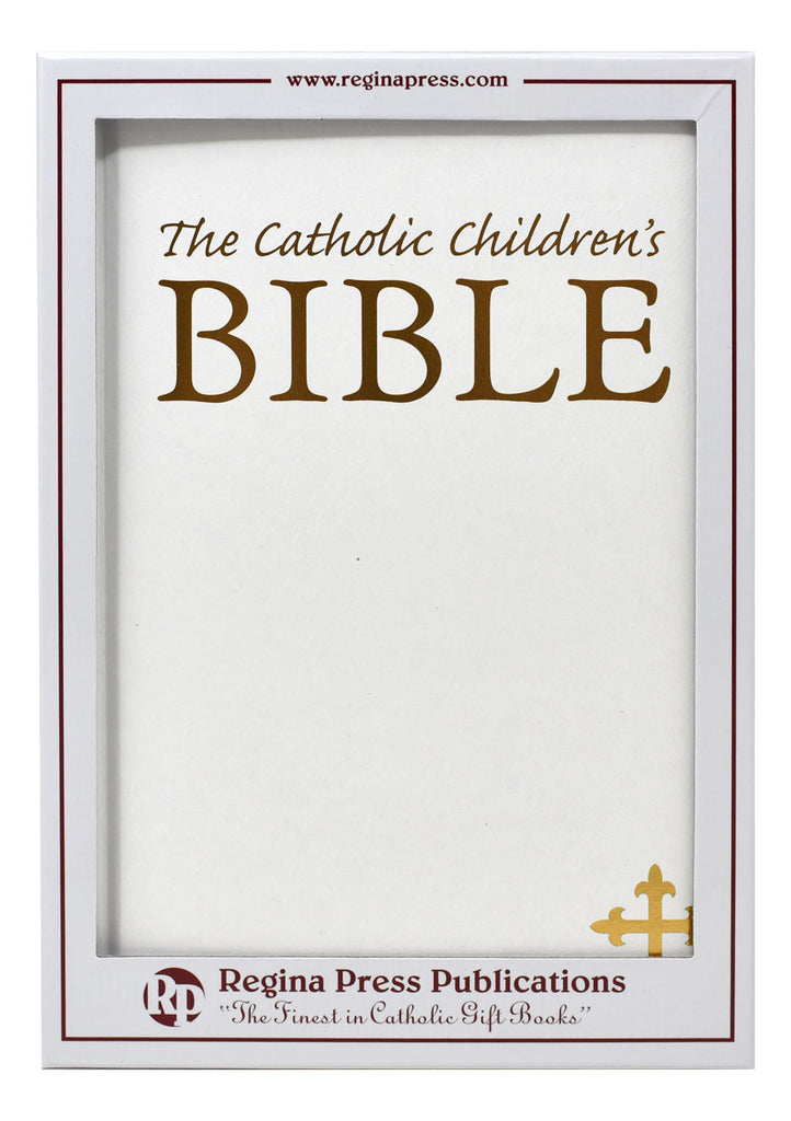 Bible - Catholic Children's Bible White Gift Edition