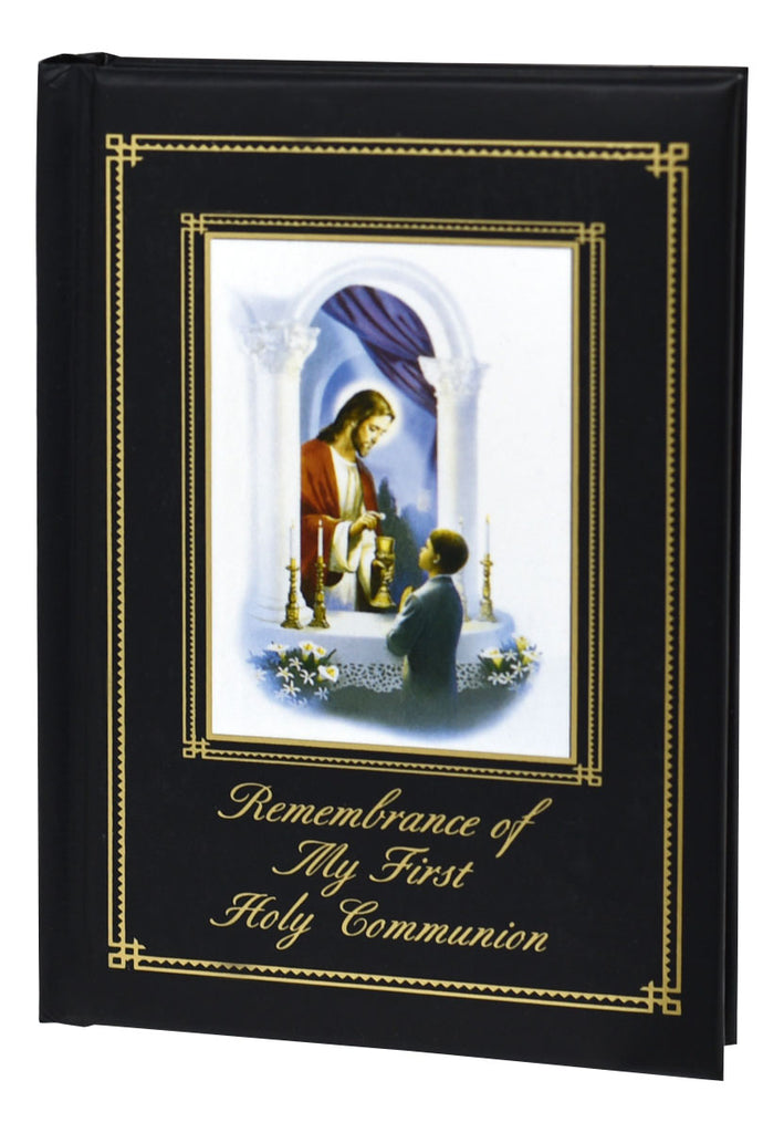 Remembrance of My First Holy Communion: Traditions Edition - Mass Book for Boys