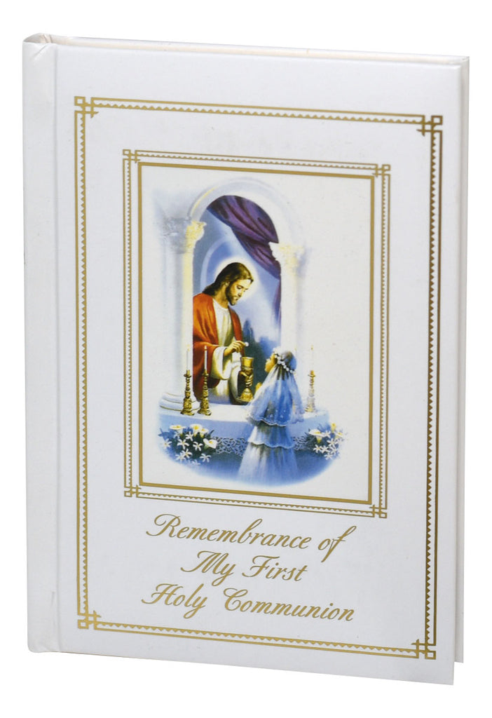 Remembrance of My First Holy Communion: Traditions Edition - Mass Book for Girls