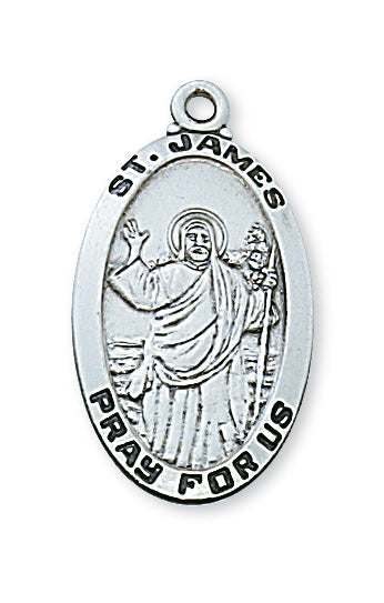 James - St. James Medal - Sterling Silver
