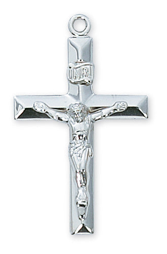 Crucifix Necklace - Sterling Silver