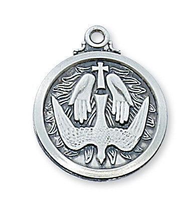 Holy Spirit Pendant Box Sterling