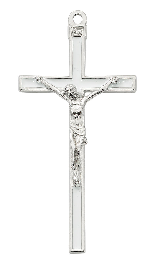 Crucifix 5in White