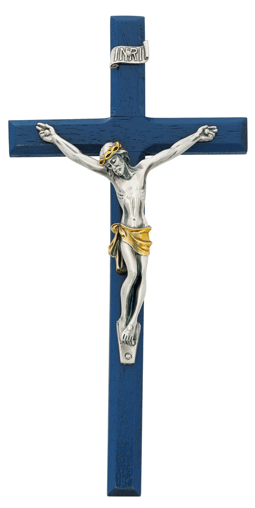Crucifix - 10in Navy Blue Crucifix with Two Tone corpus