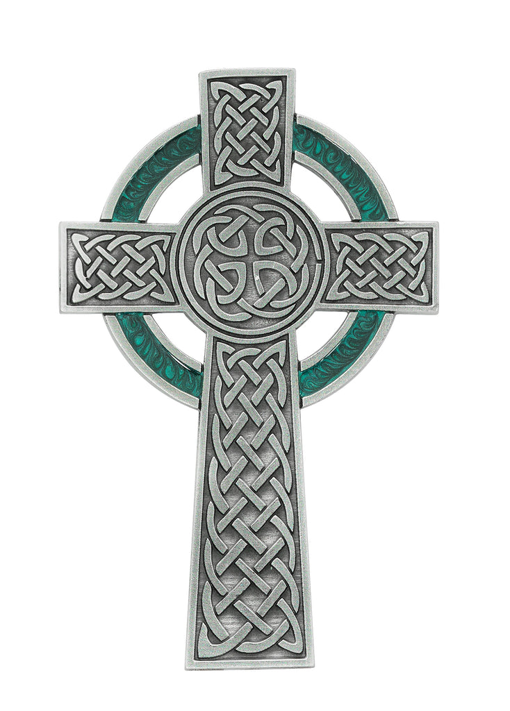 Cross - 5 1/2in Pewter Celtic Cross Boxed