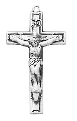 Crucifix Pendant Box Sterling