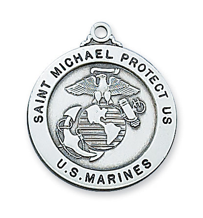 Marine Medal - Sterling Silver