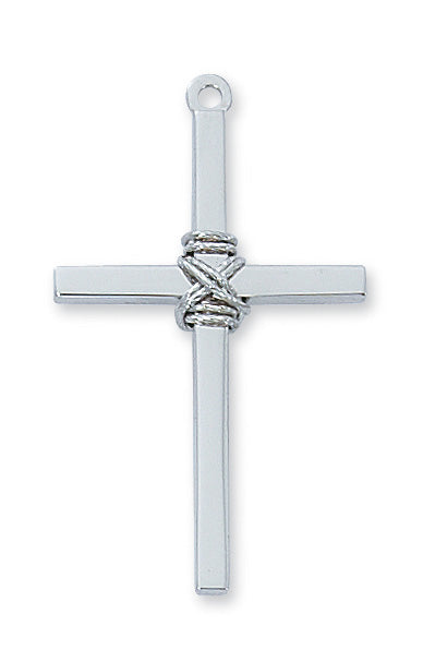 Cross Necklace - Sterling Silver