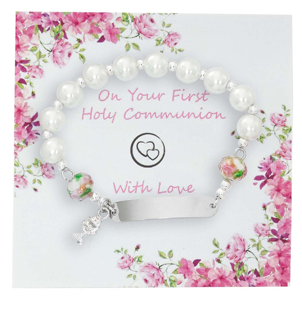 Bracelet - Youth Engravable Communion Bracelet Box