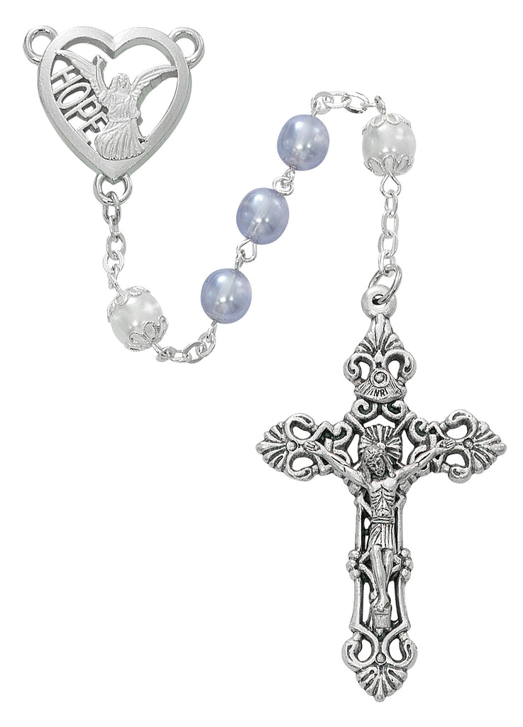 Angel of Hope Rosary - Lavender