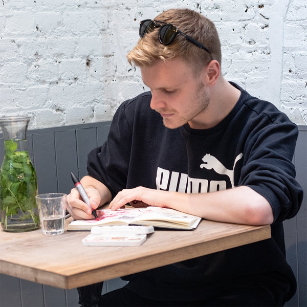 A Quick Chat With Fashion Illustrator Scott W Mason | Walk London