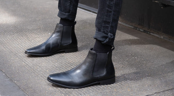 How To Wear Black Chelsea Boots In Summer | Walk London