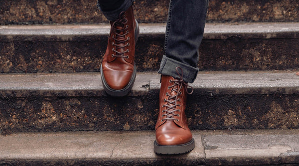 How To Wear Lace Up Boots Throughout The Coming Months | Walk London