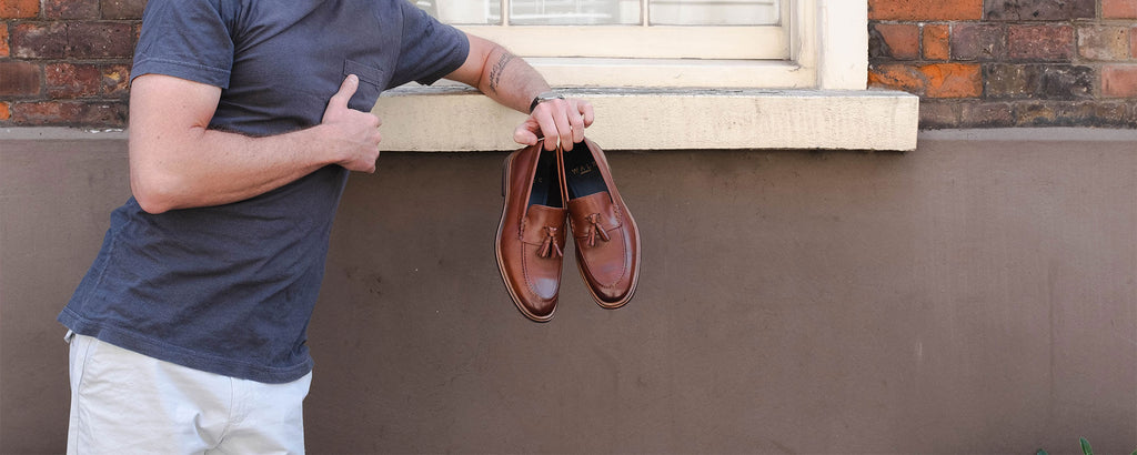 How to Wear mens Tassel Loafers