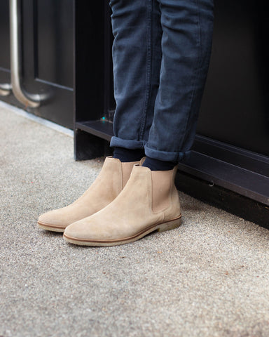 Wearing Chelsea Boots For Comfort - A Crepe Sole Hornchurch with Regular Fit Jeans
