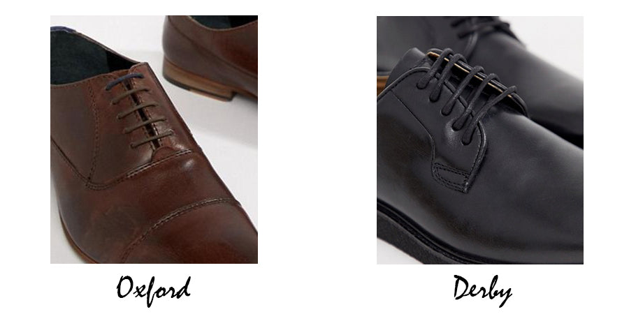 The Difference Between An Oxford Shoe and a Derby Shoe