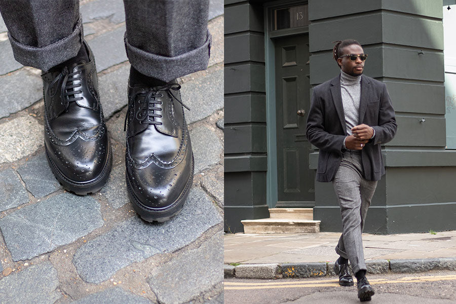 Walk London Sean Brogue Shoe AW19 Lookbook