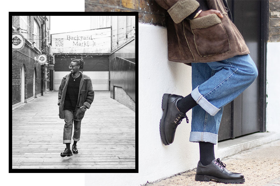 Walk London Sean Hiker Derby Shoe AW19 Lookbook