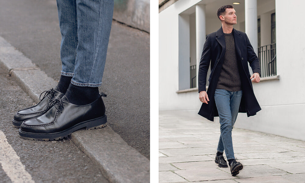How To Wear Black Derby Shoes