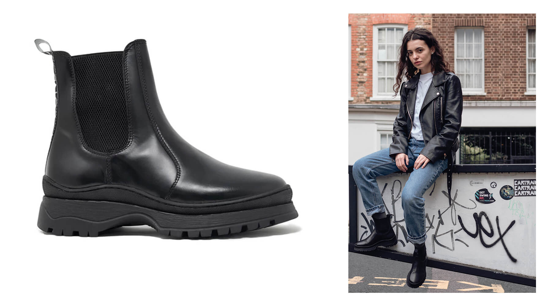 Walk London Moonwalk Chelsea Boot
