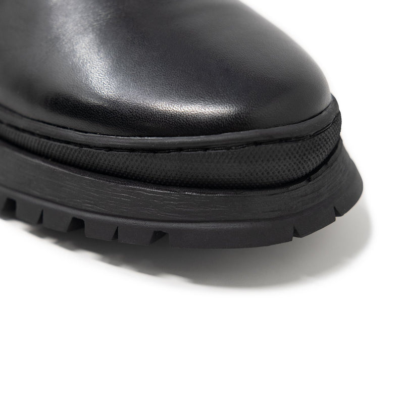 Boot Rubber Toe Guard on a Boot