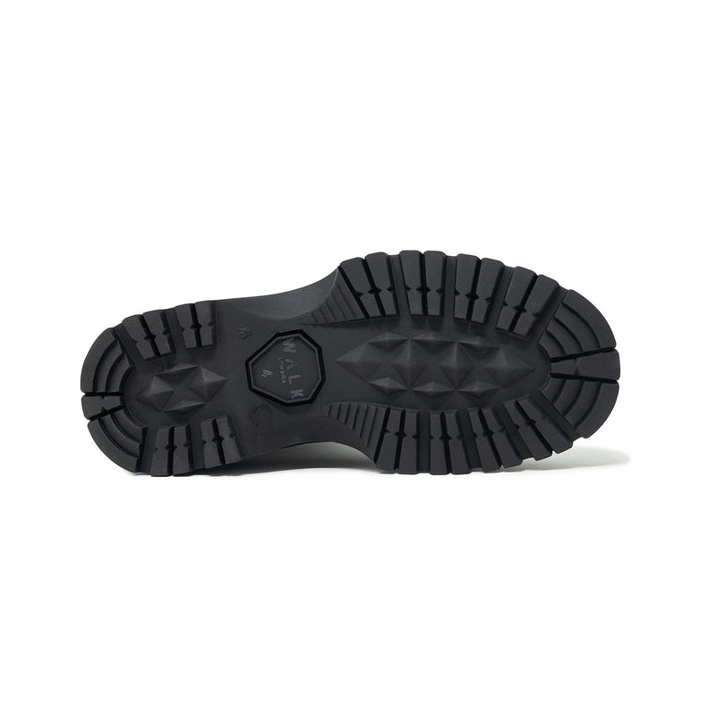 Black Rubber Cleated Sole